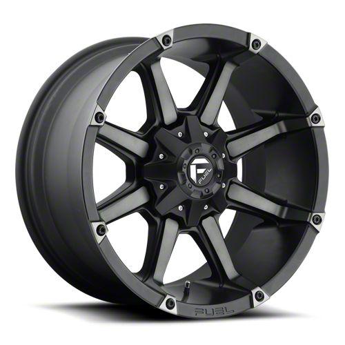 Fuel Wheels Coupler Black Machined 6-Lug Wheel - 20x9 (07-18 Sierra 1500)
