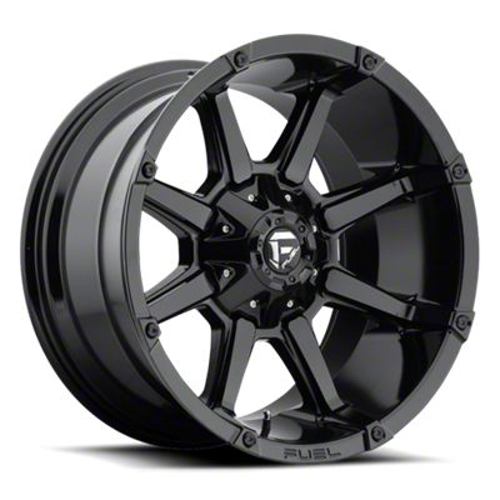 Fuel Wheels Coupler Gloss Black 6-Lug Wheel - 20x10 (07-18 Sierra 1500)