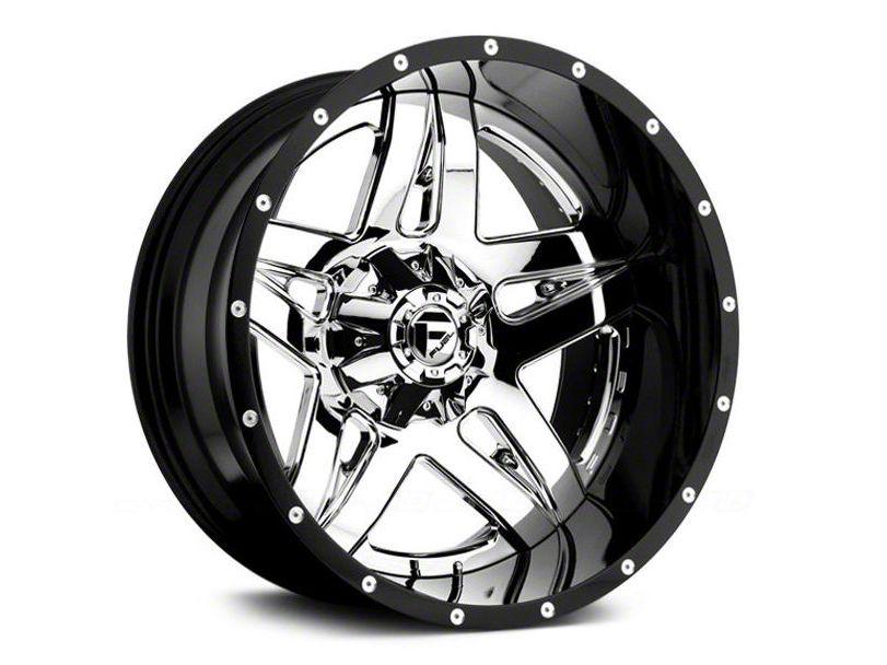 Fuel Wheels Full Blown Black Milled 6-Lug Wheel - 20x10 (07-18 Sierra 1500)