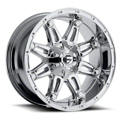 Fuel Wheels Hostage Chrome 6-Lug Wheel - 17x8.5 (07-18 Sierra 1500)