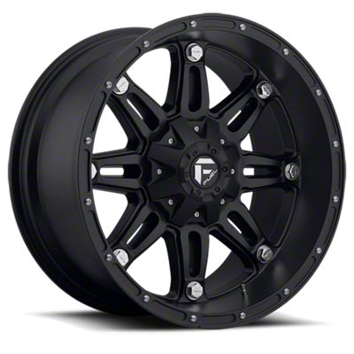 Fuel Wheels Hostage Matte Black 6-Lug Wheel - 18x9 (07-18 Sierra 1500)