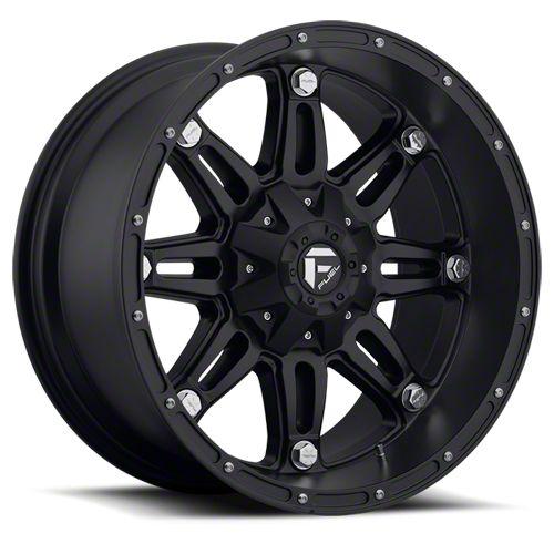 Fuel Wheels Hostage Matte Black 6-Lug Wheel - 20x9 (07-18 Sierra 1500)