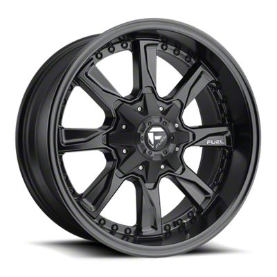 Fuel Wheels Hydro Matte Black 6-Lug Wheel - 17x8.5 (07-18 Sierra 1500)