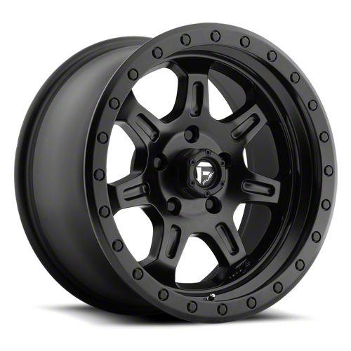 Fuel Wheels JM2 Matte Black 6-Lug Wheel - 20x9 (07-18 Sierra 1500)
