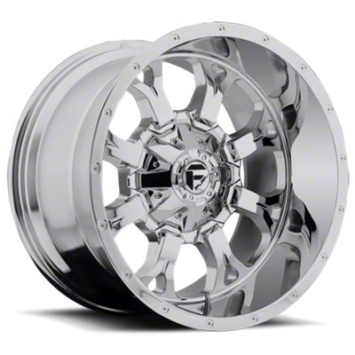 Fuel Wheels Krank Chrome 6-Lug Wheel - 17x9 (07-18 Sierra 1500)
