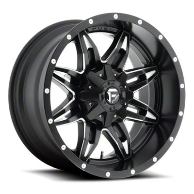 Fuel Wheels Lethal Black Milled 6-Lug Wheel - 18x9 (07-18 Sierra 1500)