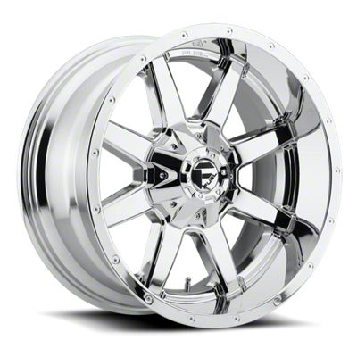 Fuel Wheels Maverick Chrome 6-Lug Wheel - 20x10 (07-18 Sierra 1500)