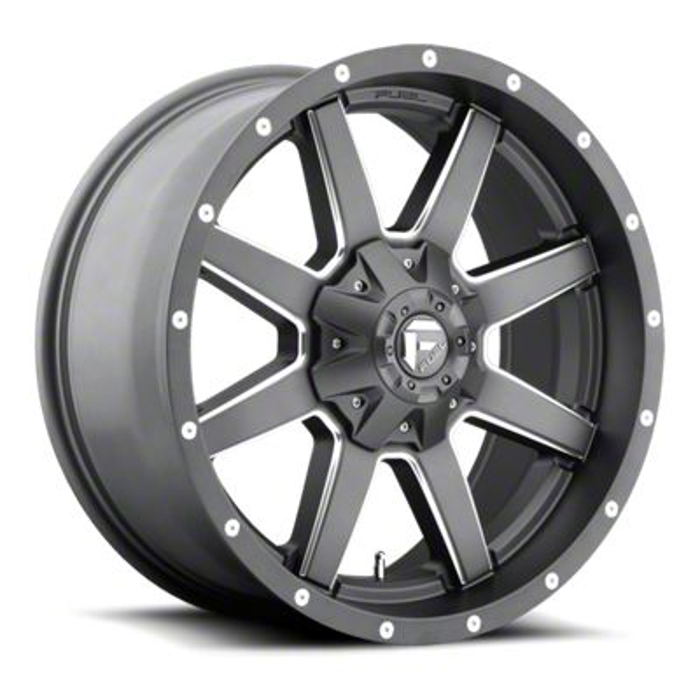 Fuel Wheels Maverick Gun Metal 6-Lug Wheel - 20x9 (07-18 Sierra 1500)