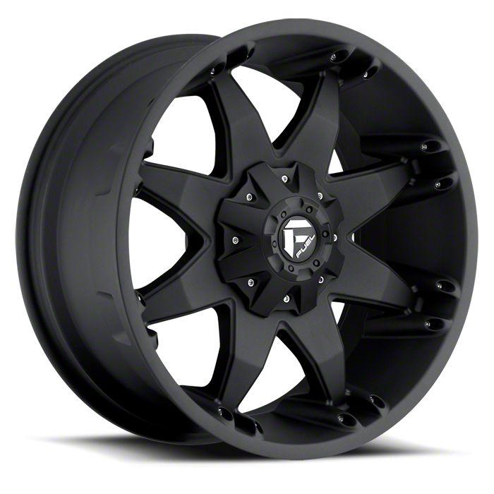Fuel Wheels Octane Matte Black 6-Lug Wheel - 22x10 (07-18 Sierra 1500)