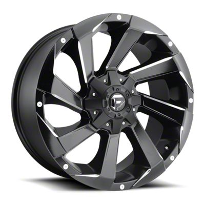Fuel Wheels Razor Matte Black Milled 6-Lug Wheel - 17x9 (07-18 Sierra 1500)