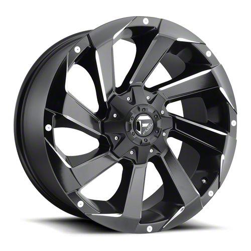 Fuel Wheels Razor Matte Black Milled 6-Lug Wheel - 20x9 (07-18 Sierra 1500)