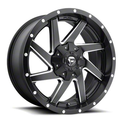 Fuel Wheels Renegade Matte Black Milled 6-Lug Wheel - 17x9 (07-18 Sierra 1500)