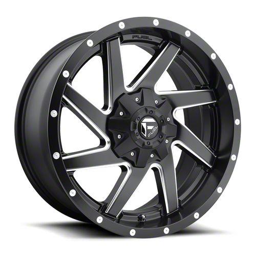 Fuel Wheels Renegade Matte Black Milled 6-Lug Wheel - 20x9 (07-18 Sierra 1500)