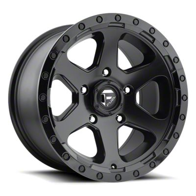 Fuel Wheels Ripper Matte Black 6-Lug Wheel - 18x9 (07-18 Sierra 1500)