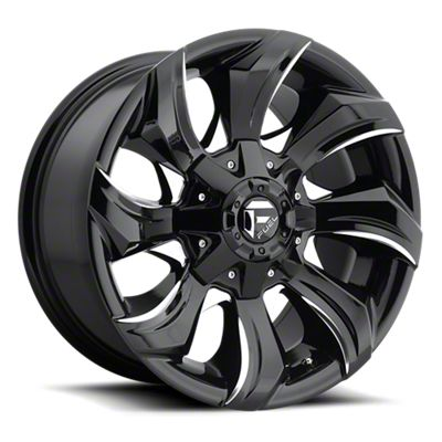 Fuel Wheels STRYKR Gloss Black Milled 6-Lug Wheel - 17x9 (07-18 Sierra 1500)