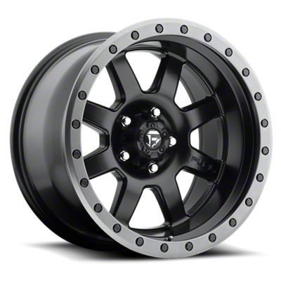 Fuel Wheels Trophy Matte Black 6-Lug Wheel - 20x9 (07-18 Sierra 1500)