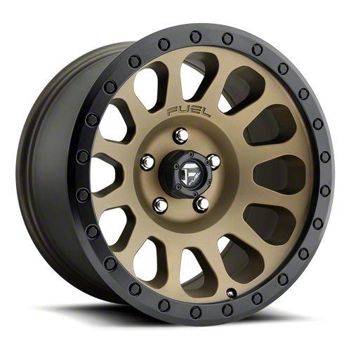 Fuel Wheels Vector Bronze 6-Lug Wheel - 20x9 (07-18 Sierra 1500)