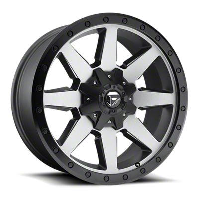 Fuel Wheels Wildcat Gun Metal 6-Lug Wheel - 17x9 (07-18 Sierra 1500)