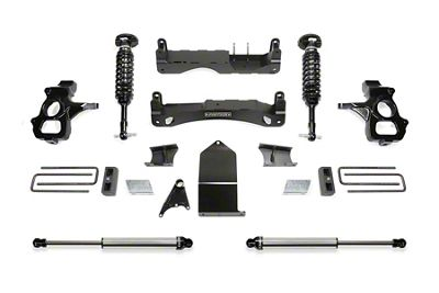 Fabtech 4 in. Performance Lift System w/ Dirt Logic 2.5 Coilovers & Dirt Logic Shocks (14-18 Sierra 1500 Double Cab, Crew Cab, Excluding Denali)