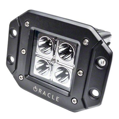 Oracle Off-Road Series Square Flush Mount LED Light - Spot Beam