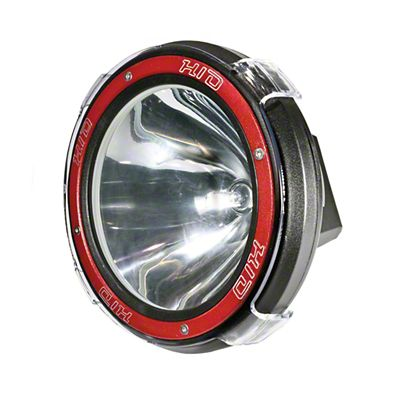 Oracle 9 in. Off-Road Series A10 55W Round HID Xenon Light - Spot Beam