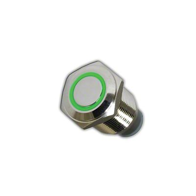 Oracle On/Off Flush Mount LED Switch - Green (07-18 Sierra 1500)