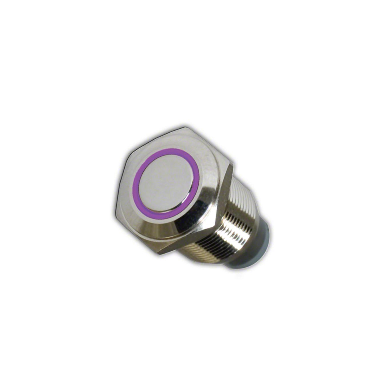 Oracle On/Off Flush Mount LED Switch - UV/Purple (07-18 Sierra 1500)