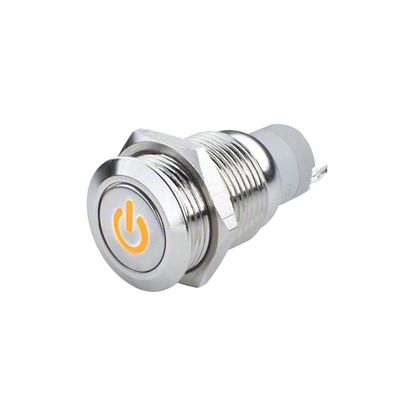 Oracle Pre-Wired Power Symbol On/Off Flush Mount LED Switch - Amber (07-18 Sierra 1500)