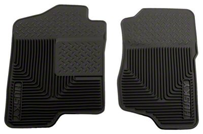 Husky Heavy Duty Front Floor Mats - Black (07-13 Sierra 1500)
