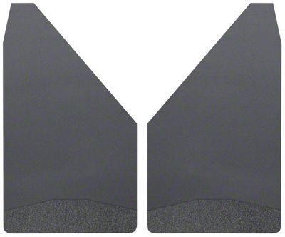 Husky 14 in. Wide Mud Flaps - Black Weight (07-18 Sierra 1500)