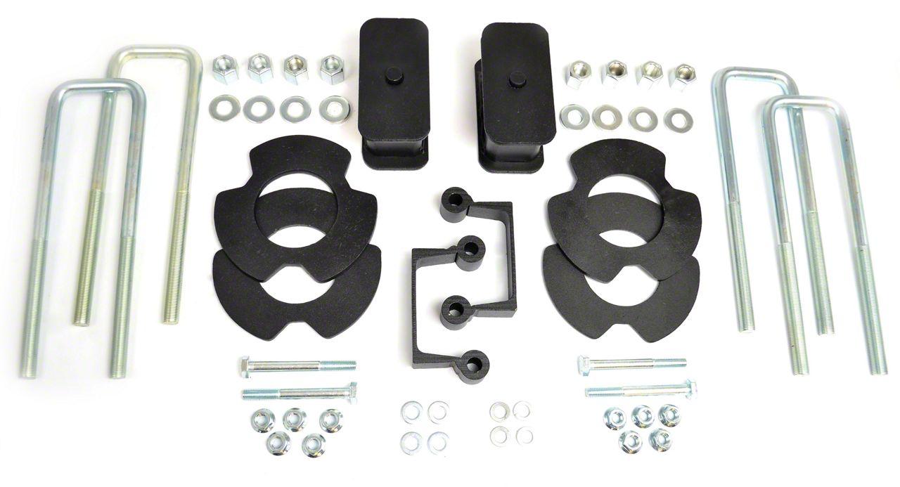 RBP 3 in. Front / 1 in. Rear Leveling Kit (07-18 2WD/4WD Sierra 1500, Excluding 14-18 Denali)