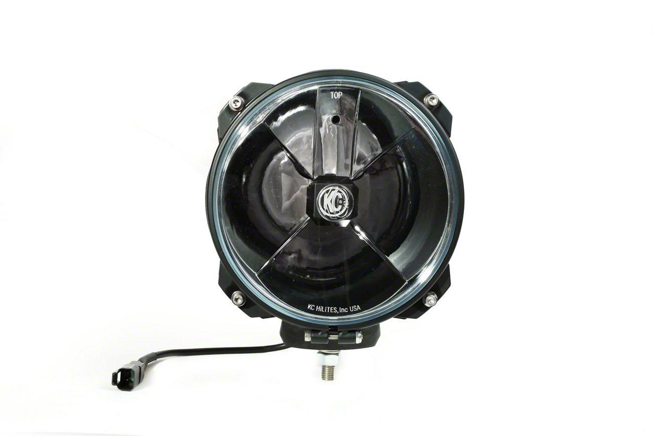 KC HiLiTES 7 in. Gravity G7 Carbon Pod LED Light - Spot Beam