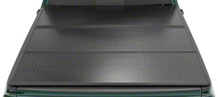 Bestop EZ-Fold Hard Tonneau Cover - Aluminum (07-13 Sierra 1500 w/ Short & Standard Box)