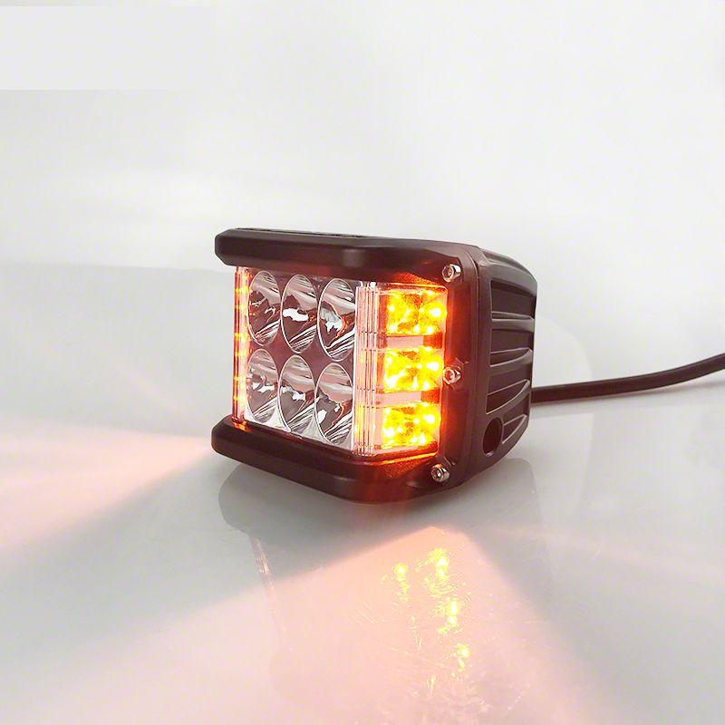 Lifetime LED Dual Color Strobe LED Cube Light