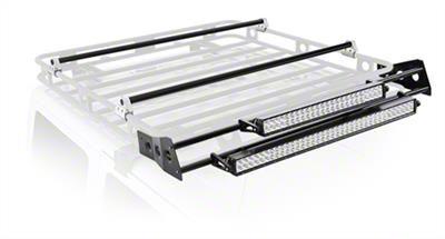 Smittybilt 4 ft. Defender Roof Rack LED Light Bar Mount Kit (07-18 Sierra 1500)