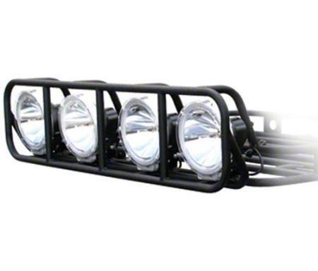 Smittybilt 4.5 ft. Defender Roof Rack Light Cage (07-18 Sierra 1500)