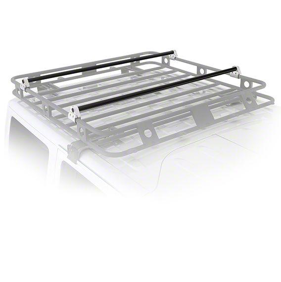 Smittybilt Defender Roof Rack Crossbar Bracket Kit (07-19 Sierra 1500)