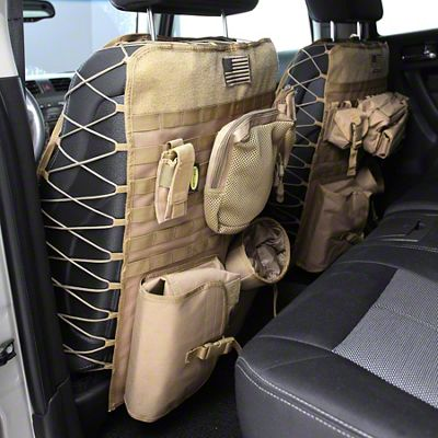 Smittybilt G.E.A.R. Front Seat Covers - Coyote Tan (07-18 Sierra 1500)