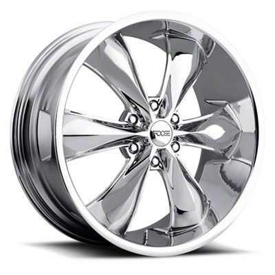 Foose Legend Six Chrome 6-Lug Wheel - 22x9.5 (07-18 Sierra 1500)
