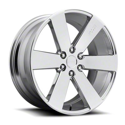 Foose Switch Chrome 6-Lug Wheel - 22x9.5 (07-18 Sierra 1500)