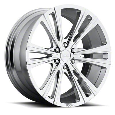 Foose Wedge Chrome 6-Lug Wheel - 22x9.5 (07-18 Sierra 1500)
