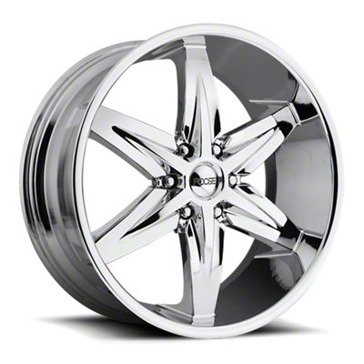Foose Slider Chrome 6-Lug Wheel - 22x9.5 (07-18 Sierra 1500)