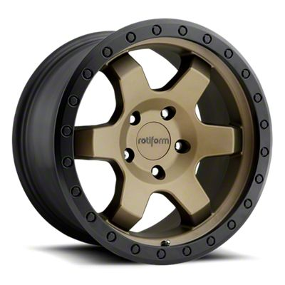Rotiform Six Bronze 6-Lug Wheel - 20x9 (07-19 Sierra 1500)