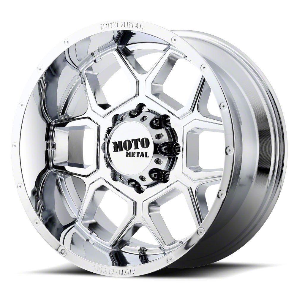 Moto Metal MO981 Spade Chrome 6-Lug Wheel - 22x12 (07-18 Sierra 1500)