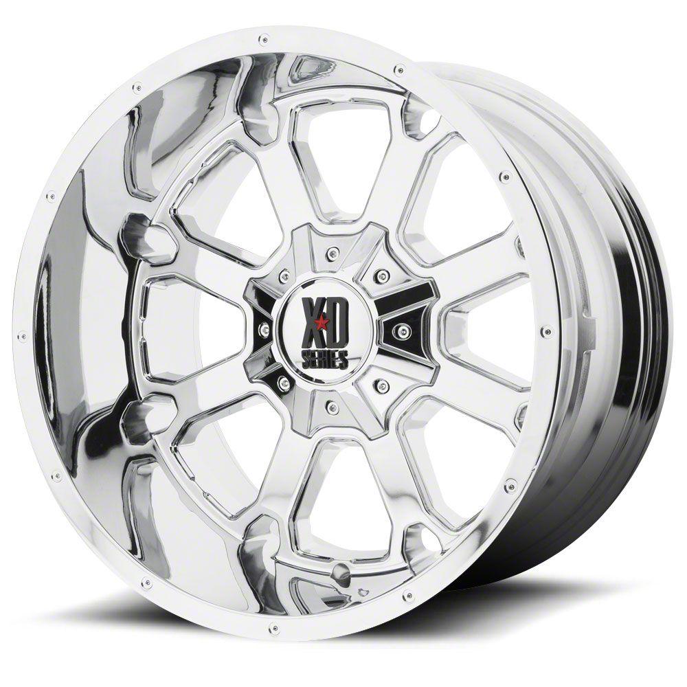 XD Buck 25 Chrome 6-Lug Wheel - 20x12 (07-18 Sierra 1500)