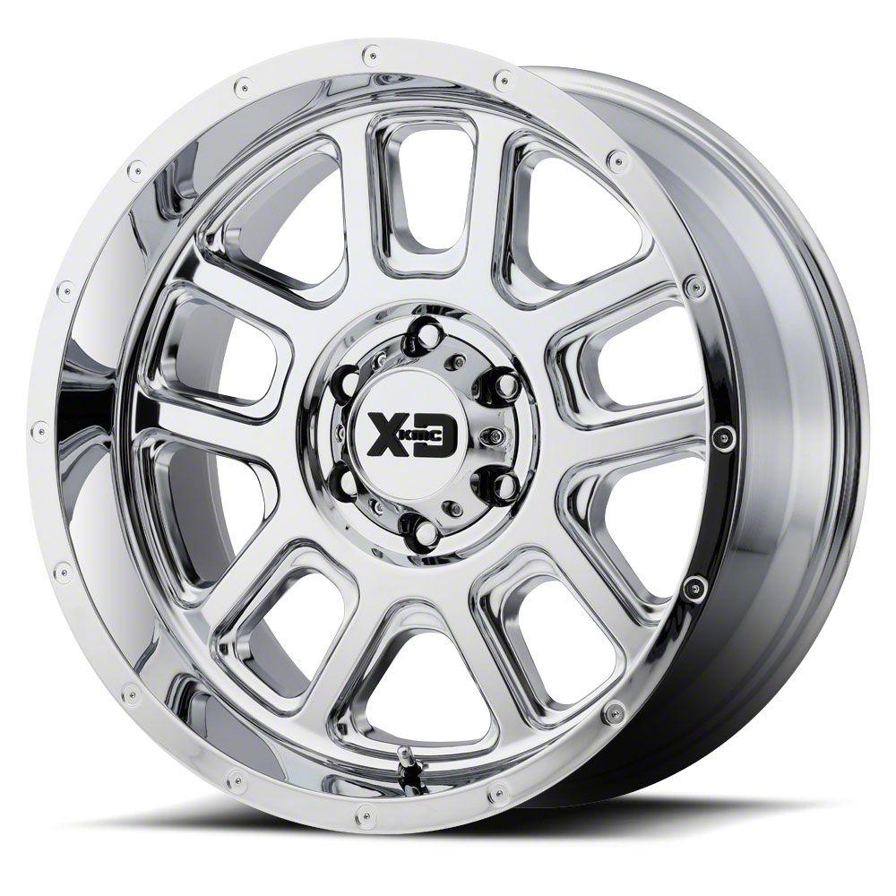 XD Delta Chrome 6-Lug Wheel - 22x10 (07-18 Sierra 1500)