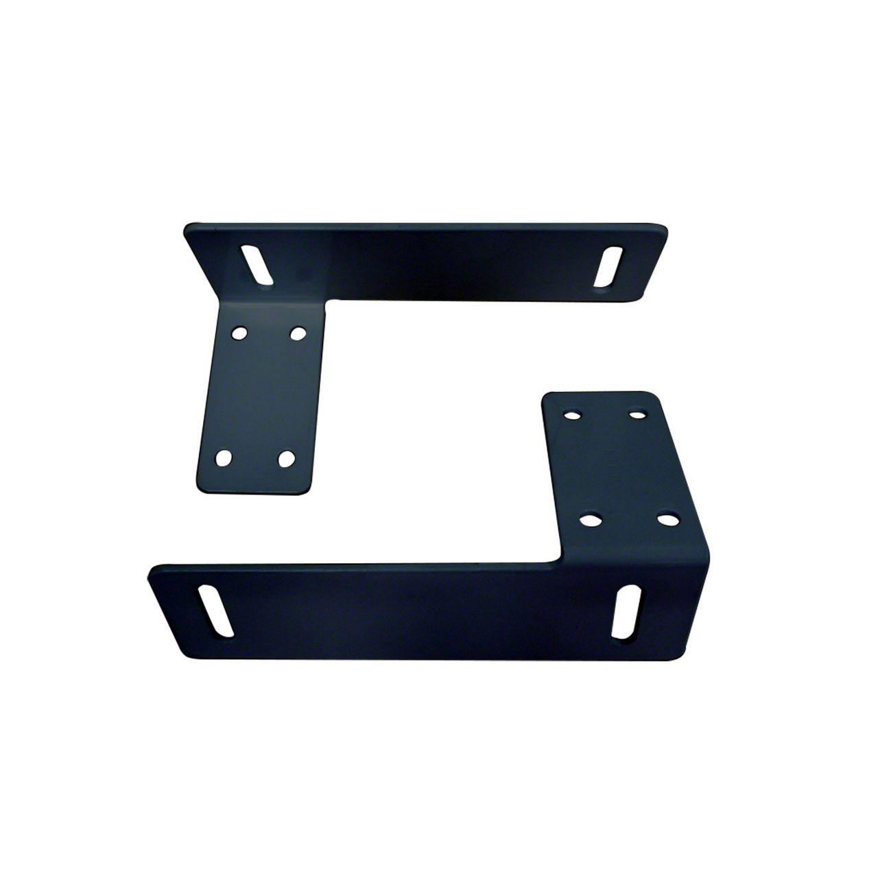 Westin Headache Rack Tool Box Bracket - Black (07-18 Sierra 1500)
