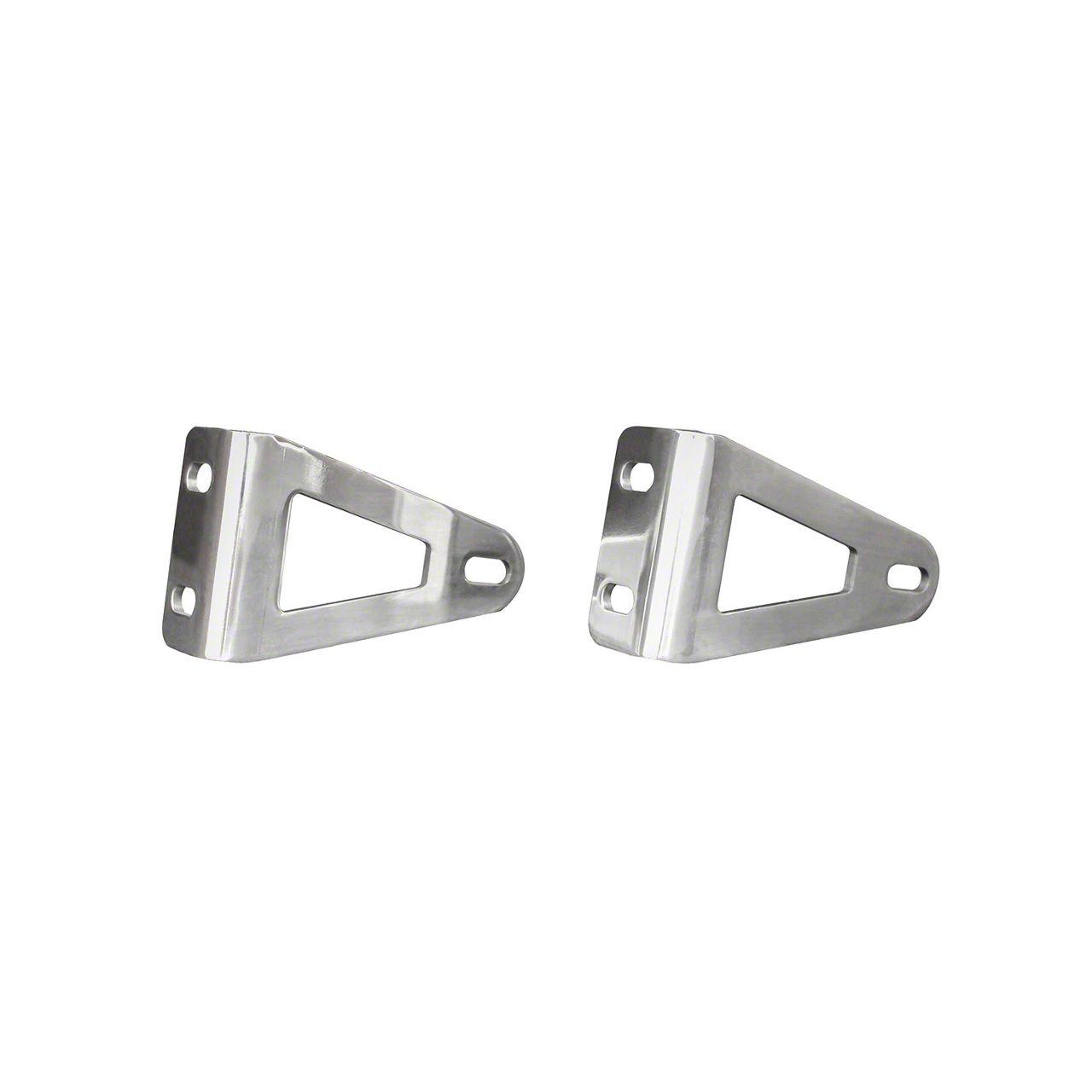 Westin HDX Grille Guard LED Light Bracket for 20 or 30 in. LED Light Bar - Stainless Steel (07-18 Sierra 1500)