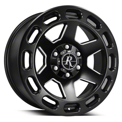 Remington Off-Road Patriot Satin Black Milled 6-Lug Wheel - 20x9 (07-19 Sierra 1500)