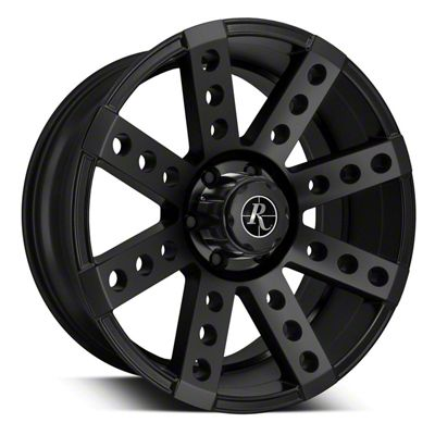 Remington Off-Road Buckshot All Satin Black 6-Lug Wheel - 20x9 (07-19 Sierra 1500)